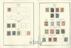 Uruguay Collection 1856 to 1990 in Scott Specialty Album, Binder, Dustcase