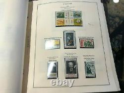 Us Mnh Collection 1961-1990 In Scott Album $ 277 Face Nice Look (a057)