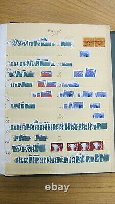 Used US PNC Coil stamp collection Scott national album Plate number single lot