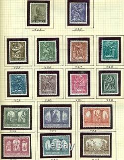VATICAN CITY COLLECTION 1929 1983 in Scott Specialty Album Scott $453.00
