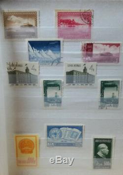 VR/PRC China kleines Album Sammlung China Collection gestempelt und postfrisch