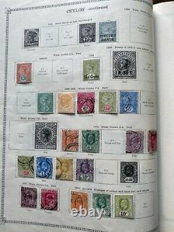 Valuable British Commonwealth Collection in Beautiful 5th Edition Ideal Album