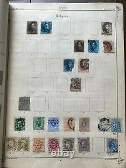 Valuable Worldwide Collection on Antique Imperial Album Very Strong GB Huge Cat