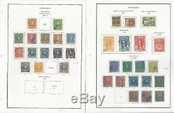 Venezuela Collection 1859 to 1940 on 40 Album Pages, Loaded With Classics