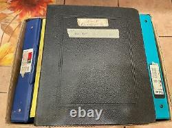 Very Large Worldwide Stamp Collection In 9 Albums Ww Stamps