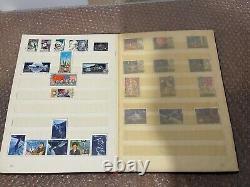 Vintage Album Stamp Collection USSR SPACE 304 pcs