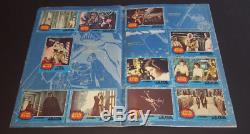 Vintage Album Trading Cards Stamps Star Wars + Supplement 1977