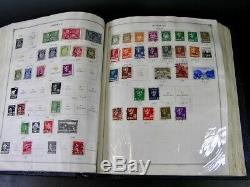 Vintage Scott International Stamp Album Collection 1862-1939