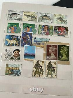 Vintage Stamp Album with Lots of Very Collectible Stamps Including Worldwide