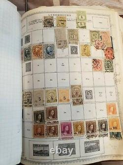 Vintage Stamp Collection Citation Album-From I-M- 1000's of stamps- Unsearched
