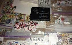 Vintage Stamp Postage Album collection lot vintage