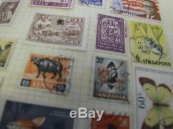 Vintage World stamp collection in several albums