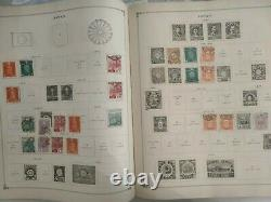 Vintage worldwide stamp collection in Scott 1924 album. Look at some photos