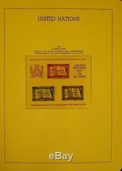 Virtually Complete Unused Collection 1951-1985 in Hingeless Lighthouse Album
