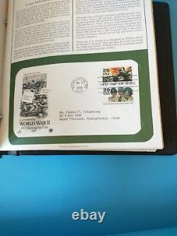 Vtg 1990s First Day Issue Instant Book Stamp Collection Hundreds 1990s Album Lot