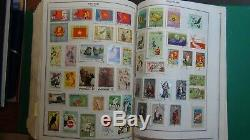 WW stamp collection in Harris Senior Statesman album withest. Many, many 1,000's