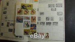 WW stamp collection in Harris Traveler album with 2,400 or so stamps