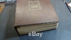 WW stamp collection in Huge loaded Minkus album with est. Many 1,000s stamps A G