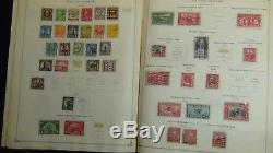 WW stamp collection in Scott Int'l album copyright 1938 with 4,000 or so