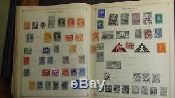 WW stamp collection in Scott Int'l album copyright 1938 with 5,500 or so