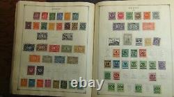WW stamp collection in very old Scott album withest 6,300 or so