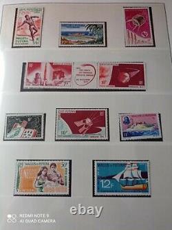 +++ Wallis Futuna collection en album Lindner MNH année 1955 à 1993