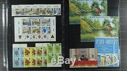 Weeda Jersey Collection in KABE album, nearly complete, MNH 1958-2002 CV $1594+