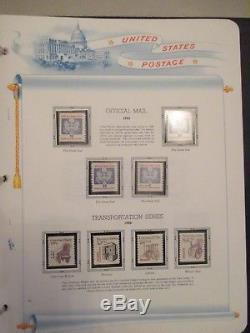 White Ace US Regular stamps album collection with binders (1847 2017)