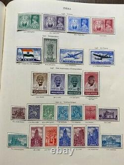 Wonderful Mint & Used KGVI Collection in Red SG Crown Album High Cat Value