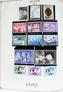 World Part 2 Stamp Collection 1940-60s in 6 HUGE Scott International Albums