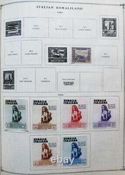 World Pre-1940 Stamp Collection A-Z in Old Scott International Album