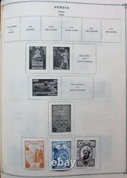 World Starter 1950s Stamp Collection in Two Scott International Albums