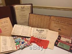 World Wide Stamp Collection Lot-Golden Replicas-Albums-Post Cards-Old Stamps