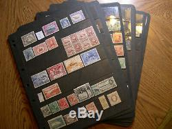 World Wide collection A-Z in 31 Hagner album single sided pages. HIGH CV $ DZ