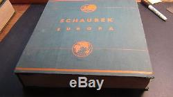 World Wide stamp collection in 1933 Schaubek album in great shape EUROPE