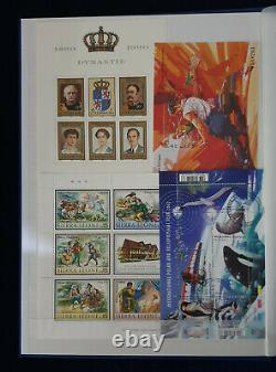 Worldwide Collection of Miniature Sheets, Blocks and Stamps in a New Album #5084