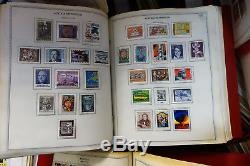Worldwide Lifetime Stamp Collection 20,000+ 1950s-90s Mint Sets in 90 Albums