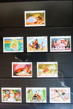 Worldwide Mint Vintage Disney Stamp Collection in Album