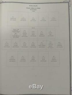 Worldwide Stamp Collecting Empty Album & Pages 1901-1920 Scott Internation Album
