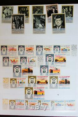 Worldwide Stamp Collection in 15 Albums