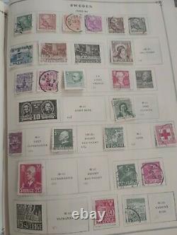 Worldwide amazing stamp collection in Scott internatl album 1857 fwd. View some