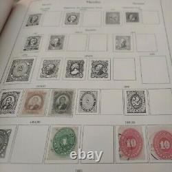 Worldwide boutique stamp collection in a very old Marken album 1879 forward
