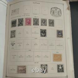 Worldwide stamp collection from 1800s forward in perfect Harris album. Super