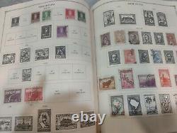 Worldwide stamp collection in Scott international album 1850s forward. Wonderful