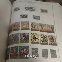 Worldwide stamp collection in Scott international album 1861 forward. A+. HCV