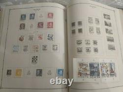 Worldwide stamp collection in wonderful Scott international album. 1867 forward
