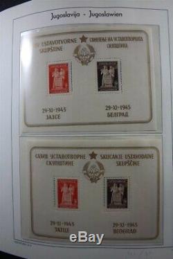 YUGOSLAVIA MNH 1944-1979 Lighthouse Album Stamp Collection