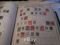 1 Chargé Minkus Supreme Global Stamp Album # 5 8 Ma-pas Beaucoup Collection De Timbres