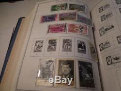 1 Chargé Minkus Supreme Global Stamp Album # 8 Sur 8 Sw-za Beaucoup De Collection De Timbres