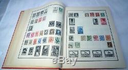 1200+ Moderne Stamp Album Collection Worldwide Frais De Ports Incomplète